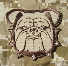 BULLDOG HEAD US MILITARY INFIDEL ARMY MORALE DESERT ARID HOOK PATCH