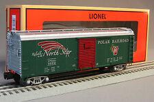 LIONEL POLAR RAILROAD ROUND ROOF BOXCAR #1202 train o gauge christmas rr 6-17752