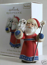 Hallmark Ornament 2011 A Visit From Santa #3 in the Series NEW