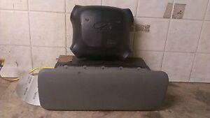 00 01 Oldsmobile Bravada Air Bag Set Wheel and Dash Bag OEM Grey