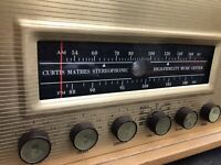 1962 Vacuum Tube Stereo Receiver Amplifier CURTIS MATHES 30C EL84 12AX7