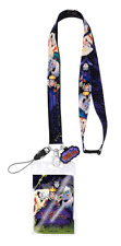 Deluxe Disney Villains Lanyard with card holder, Ursula, Cruella DeVille, Witch
