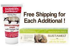 Body Balm Sustamed Badger Fat Rubbing Massage