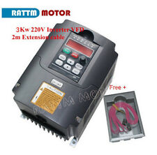 HY 3KW 220V 4HP 13A VFD Inverter VSD Variable Frequency Driver For CNC Router