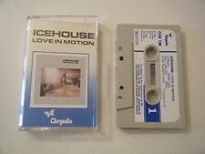 ICEHOUSE LOVE IN MOTION CASSETTE TAPE ALBUM A.K.A. PRIMITIVE MAN CHRYSALIS 1983