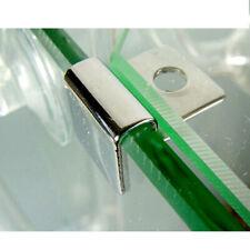 Blesiya 4pcs Aquarium Tank Glass Cover Clip Support Holder W/ Foot-Pad