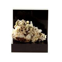 Siderite, Quartz, Pyrite. 65.9 ct. Mésage Mine, Vizille, France. Rare.