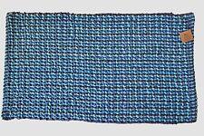 Bleu Marine Aqua Moelleux Tapis De Bain Doux Salle de bain Lavable 50 cm x 80cm