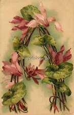 "Vintage Victorian Klein Floral Letter Initial ""A""  2"" x 3"" Fridge Magnet"