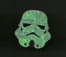 Star Wars Stormtrooper Mystery Helmet Green Circuit Splendid Walt Disney Pin