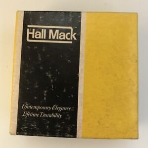 Hall Mack Towel Bar Posts HM-495PC Vintage Retro Aristochrome 1 pair in box