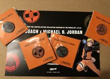by Pintrill Naruto Full Set 4 of 4!� Nycc 2019 Coach x Michael B. Jordan Pin