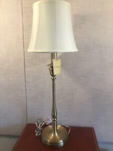 RALPH LAUREN DARIEN Candlestick buffet Table Lamp BRASS GOLD TONE - NEW