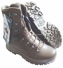 BRITISH ARMY HAIX BROWN COLD WEATHER GORETEX BOOTS - 6 MED - NEW IN BOX - SN3077