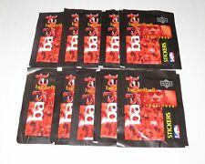 1997/98 Upper Deck NBA Basketball 10 x Sticker Pack Lot New & Sealed Jordan