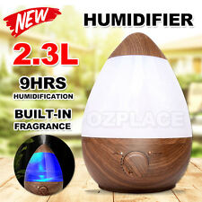 2.3L Air Humidifier Ultrasonic Aromatherapy Diffuser Aroma Nebuliser Purifier
