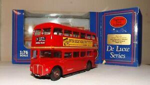 EFE 15602DL LONDON TRANSPORT RM CLASS ROUTEMASTER D/D BUS 4MM 1:76 SCALE