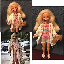 Barbie Stacie Doll Ooak As Walker Zombie Of The Walking Dead -Collectors Repaint
