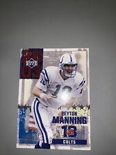New listing 2003 Upper Deck Peyton Manning Card 4 Of 5