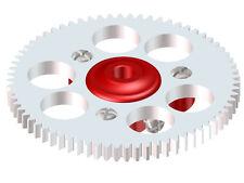 Lynx Blade Nano CP X / CP S Red Ultra Main Gear Hub W/ 70T Main Gear LX0754