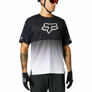 Fox Racing 2021 Flexair s/s Short Sleeve Jersey Black/White