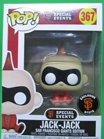 Pixar Jack Jack Incredibles 2 #367 Funko Pop San Francisco Giants Exclusive SGA