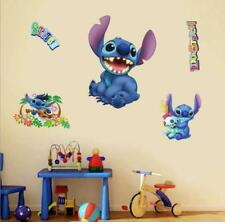 Large Lilo & Stitch Removable Wall Stickers Decal Kids Nursing Room Home Decor