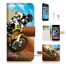( For iPhone 6 / 6S ) Wallet Case Cover! Motocycle Bike P0043