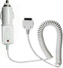 12/24V Autoladekabel KFZ Auto Ladekabel für Apple iPhone 3G 3GS 4 4S - Weiß