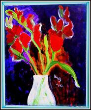 Original Signed PUKSAR GLAUDER Fine Art Painting