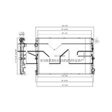 Radiator 13507 TYC