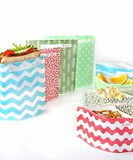 Sandwich & Snack bags 40 piece kit - BPA free, lunch, pouch
