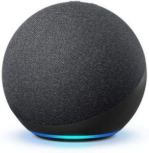 Amazon Echo 4th Gen Charcoal 2021 Smart Home Hub Zigbee L4S3RE Premium Sound