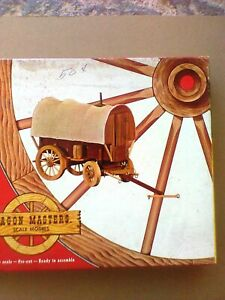 Wagon Masters Wagons of The Old West     Sheepherder's Wagon  Model Kit 109:298
