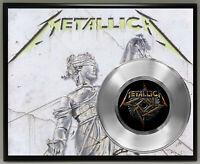 Metallica Poster Art Music Memorabilia Display Plaque Wall Art 3