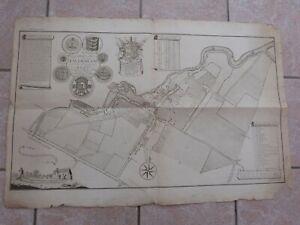 FAVERSHAM,1774 ''AN ACCURATE MAP THE TOWN OF FAVERSHAM ''  EDWARD JACOB