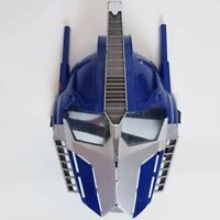 Transformers Optimus Prime Kids Costume Mask Cosplay Face Shield