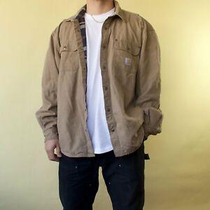Vintage Carhartt Lined shirt / light jacket - XXL