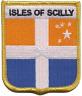 Islas De Sicilia Cornwall Bandera Parche Bordado Últimos