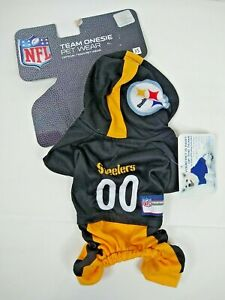 Pittsburgh Steelers Dog  Team 1 piece Hooded  Uniform  Size Extra Small  New