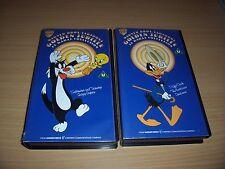 VHS DAFFY DUCK /SYLVESTER AND TWEETY'S 24 KARAT COLLECTION WARNER BROS CARTOONS