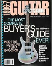 1996-7 BUYER'S GUIDE (FN-) SIGNATURE GUITAR EXPLOSION