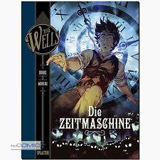 Wells la máquina del tiempo Dobbs moreau Science Fiction cómic clásico splitte