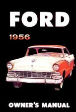 1956 FORD PASSENGER CAR FAIRLANE SKYLINER ALL MODELS FACTORY OWNERS MANUAL NEW