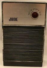 Vintage Jade Solid State Six Transistor Radio J-162 Tested
