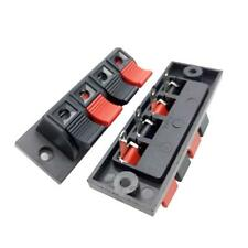 4 Positions Push In Jack Spring Load Audio Speaker Terminals Panel_Connector.
