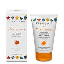 L'erbolario Piccolosole Softening AfterSun Lotion For Children Rice&Mallow 125ml