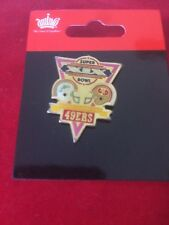 Super Bowl XIX San Francisco 49ers Champions Pin - New - NFL - Miami Dolphins
