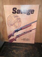 1981 Savage Sporting Arms Catalog Guns Rifles