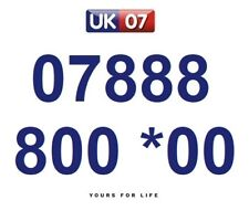 07888 800 *00 Numbers - Gold Easy Memorable Business Platinum VIP Mobile Numbers